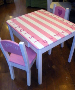 childrens table set pink white 6-21-2008 11-14-14 PM